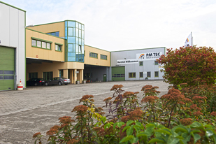 Site industriel de PM TEC Rolls & Covers GmbH in Merseburg