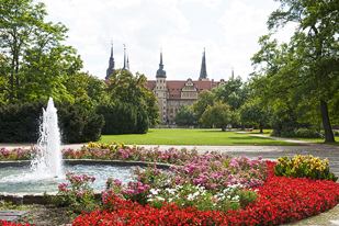Merseburg in South Saxony-Anhalt