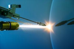 Projection canon haute vitesse